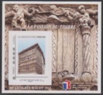 Année 2015 - Feuillet Souvenir De La FFAP - N°10 - 88ème Congrès - La Maison De Bois - Mâcon 2015 - FFAP