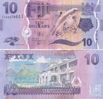 Fiji - 10 Dollars 2013  UNC Lemberg-Zp - Fiji
