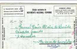Portugal -Africa -Angola -Envelopes  E Aerogramas 7 Unidades - Angola