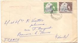 Basutoland Lettre Pour La France Baume Les Dames Doubs - Basutoland (1933-1966)