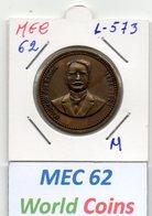 MEC 62 - PORTUGAL MEDALHA MACHADO DOS SANTOS 1875-1921 - L-573 - Entriegelungschips Und Medaillen
