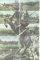 MILITARIA - Puzzle 10 CPA - Dragons   (65 ASO) - Regiments