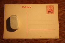 ( 2234 ) DR Besatzungsausgaben 1914/18  Etappengebiet West P 3  *  -  Erhaltung Siehe Bild - Ocupación 1914 – 18