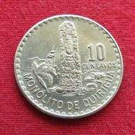 Guatemala 10 Centavos 1974 KM# 274 - Guatemala