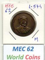 MEC 62 - PORTUGAL MEDALHA AFONSO COSTA 1871-1937 - L-574 - Entriegelungschips Und Medaillen