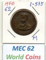 MEC 62 -PORTUGAL MEDALHA JOSE RODRIGUES DE FREITAS1840-1896 - L-575 - Entriegelungschips Und Medaillen
