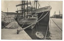 66-PORT-VENDRES-Vue Du Quai Pierre Forgas...1942 Animé  Bâteaux... Voilier AUGUSTO TONEI... - Port Vendres