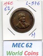MEC 62 - PORTUGAL MEDALHA JOAOPINHEIRO CHAGAS 1863-1925  - L-576 - Entriegelungschips Und Medaillen