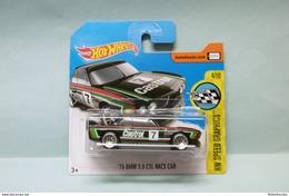 Hot Wheels - '73 BMW 3.0 CSL Race Car 1973 - 2017 HW Speed Graphics HOTWHEELS Short Card EU 1/64 - HotWheels