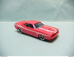 Hot Wheels - '70 PLYMOUTH AAR CUDA 1970 - 2012 Muscle Mania - Mopar HOTWHEELS 1/64 - HotWheels