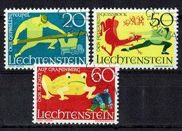 Liechtenstein 1969 // Mi. 518/520 O - Liechtenstein