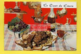 CPSM ֎ Recette Cuisine ֎ Le Civet De Lièvre  ֎ - Recipes (cooking)