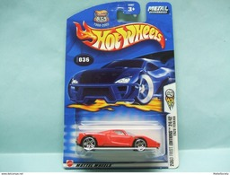 Hot Wheels - ENZO FERRARI - 2003 First Editions - Collector 36 HOTWHEELS US Long Card 1/64 - HotWheels