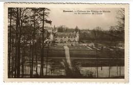 Rixensart - Château Des Princes De Mérode Vu Du Carrefour De L'Etoile - 1953 - Edit. A. Delbrassine -  2 Scans - Rixensart