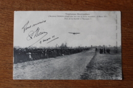 Cpa Toulouse Montauban 9 Mars 1911 Laviateur Morin  Prix De L'Epargne - Toulouse