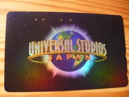 Phonecard Japan 110-016 Universal Studios - Japon
