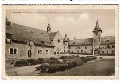 Rixensart - Château Des Princes De Mérode La Tour Du Cadran Solaire - 1952 - Edit. A. Delbrassine -  2 Scans - Rixensart