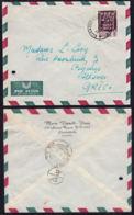 Ca5042 KATANGA 1962, Katangese Art Stamp On Elisabethville 1 Cover To Greece, I.1(D4) - Katanga