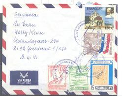 Brief Von Paraguay Nach Gerdsried - Paraguay