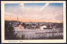 GEILENKIRCHEN - TOTALANSICHT MIT ZUG - TRAIN - Geschrieben Vom Belgischen Soldaat 1922 - Geilenkirchen