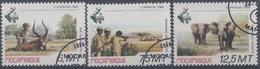 Mozambique : N° 804 à 806 Oblitéré Année 1981 - Mozambique