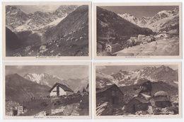 Macugnaga (Verbania) Monte Rosa - Quattro Cartoline - Verbania