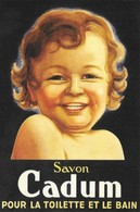 Publicité Savon Cadum (2 Scans) - Reclame