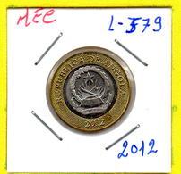MEC 62 / - Republica De Angola - / 5 Kwanzas 2012 / - L-579 - Angola