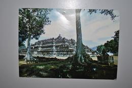 Indonésie 1988 Carte Postale Borobudur - Indonésie