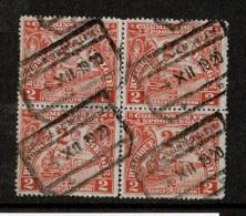 VA-6381   BAELEGHEM VILLAGE   Blok Van 4 Onderste Zegels Niet Samenhangend Horizontaal - 1923-1941
