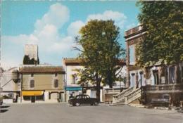 Bt- Cpsm Grand Format ENTRAIGUES Sur La SORGUE (Vaucluse) - L'Hôtel De Ville - La Tour Des Templiers - Entraigue Sur Sorgue