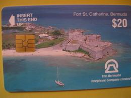 """Télécarte Des Bermudes """"amerique Du Nord"""" - Schede Telefoniche"""