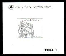 PORTUGAL. N°1732 De 1988 Sur épreuve En Noir Et Blanc. - Diligenze