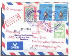Brief Von  Paraguay  Nach Aschaffenburg - Paraguay