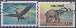 Tanzanie : N° 1656 Et 1657 Oblitéré Année 1994 - Tanzanie (1964-...)