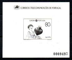 PORTUGAL. N°1763 De 1989 Sur épreuve En Noir Et Blanc. Jeux D'enfants/Toupies. - 1989