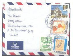 Brief Von  Paraguay  Nach Geredsried - Paraguay