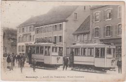 90 - BEAUCOURT - Arrêt Du Tramway - Place Centrale - Beaucourt