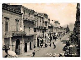 Acerra Provincia Di Napoli Animatissima Anni 50 - Napoli (Naples)
