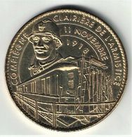 Medaille Arthus Bertrand 60.Compiègne - Clairière De L'Armistice Le Poilu 2010 - Arthus Bertrand
