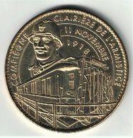 Medaille Arthus Bertrand 60.Compiègne - Clairière De L'Armistice Le Poilu 2010 - 2010