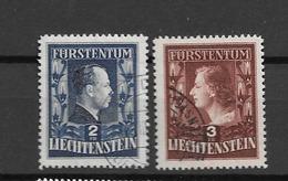 1951 USED Liechtenstein - Used Stamps