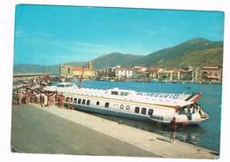 Porto Di Acciaroli Provincia Salerno Aliscafo Alivesuvio Animata Anni 70 - Salerno