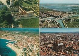16 Cartes---vues Aeriennes De France - Postkaarten