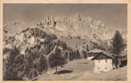 R076327 Rosengarten Dolomiten Ciampedie. Dr. Pfeifer. No. T18431 - Cartoline