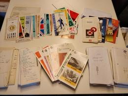 Verzameling Belgische Post 'Uitgifte Van Een Bijzondere Reeks Postzegels' 1961 Tem 1998 - Publicités