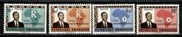 Rwanda 1962 - 1**, 5/6**, 8** MNH - 1962-69: Mint/hinged