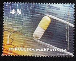 MACEDONIA, 2018, 830 - 75 YEARS DISCOVERY OF STREPTOMYCIN  TUBERCULOSUS ** - Macédoine