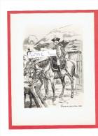 GRAVURE HUSSARDS DE CONFLANS 1788 ILLUSTRATEUR MAURICE TOUSSAINT - Uniformes