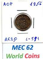 MEC 62 / - Angola Portuguesa - / 2,50 Escudos 1956 / Ex/ Colonia- L-591 - Angola